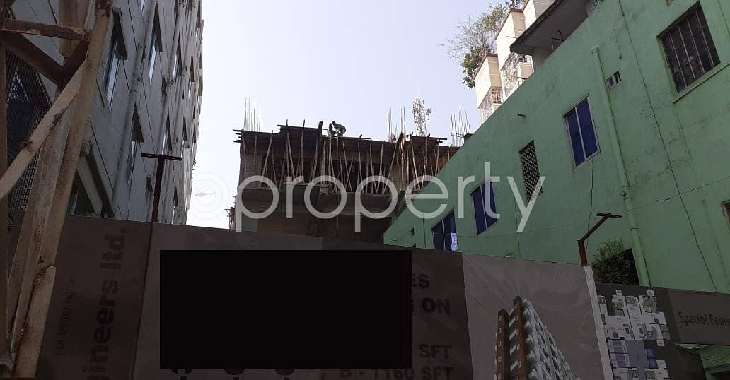 A Flat Can Be Found In Dhanmondi For Sale, Near Sher-e-bangla Road Jame Mosjid