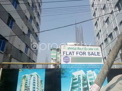 3 Bedroom Flat for Sale in Aftab Nagar, Dhaka - In The Location Of Aftab Nagar Close To Baitul Atiq Jame Mosque, A Flat Is Up For Sale