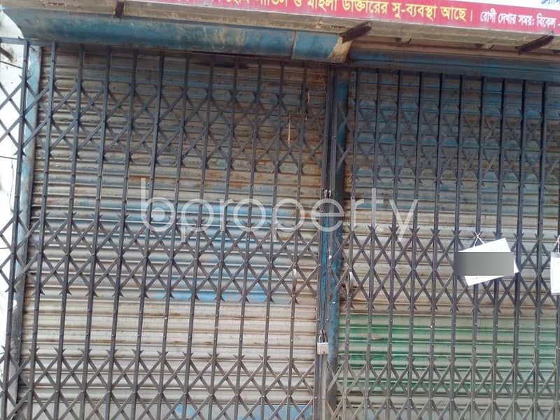This 1800 Sq. Ft Shop Is Up For Rent In Lalbagh Near New Paltan Line School & College