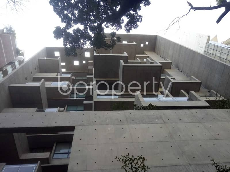A Finely Built 4550 Sq Ft Flat Is Up For Rent In Baridhara, Nearby Baridhara Jame Masjid