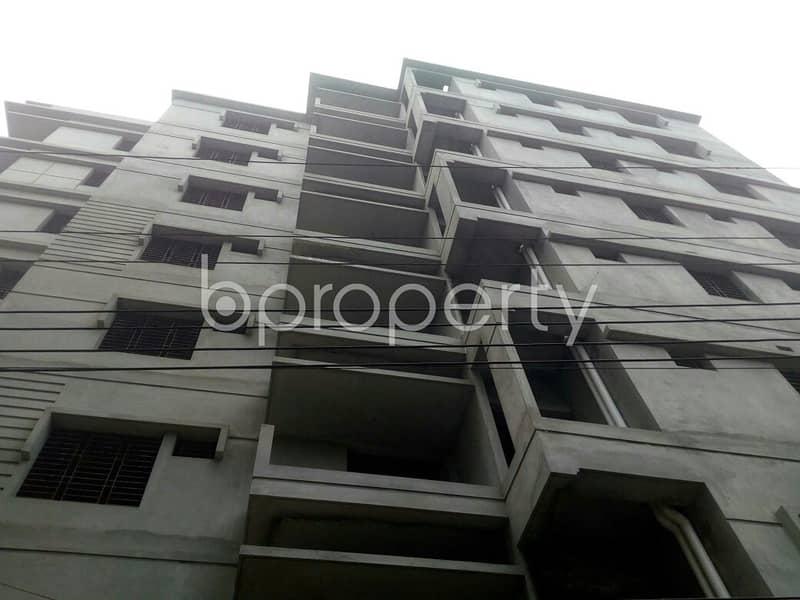 1100 Sq Ft Nice Apartment For Sale In Dakshin Khan Nearby Chairman Bari Jame Mosjid