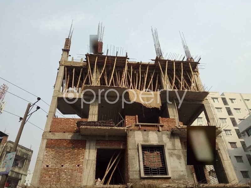 Near Sunflower School And College In Bashundhara R-A See This Apartment Is For Sale