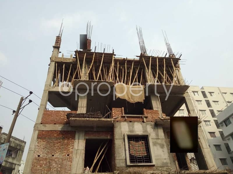 1550 Sq. Ft And 3 Bedroom Apartment For Sale In Bashundhara R-A Near Sunflower School And College