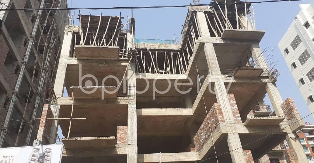 2148 Sq. Ft And 3 Bedroom Apartment For Sale In Bashundhara R-A Near Bashundhara Boro Masjid.