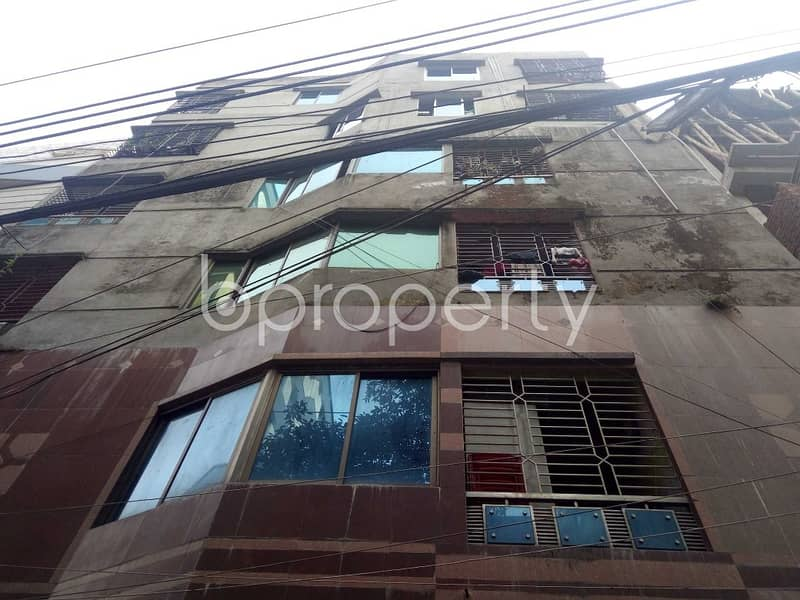 An Apartment Is Ready For Rent At Middle Badda, Near Jamuna Bank Limited.