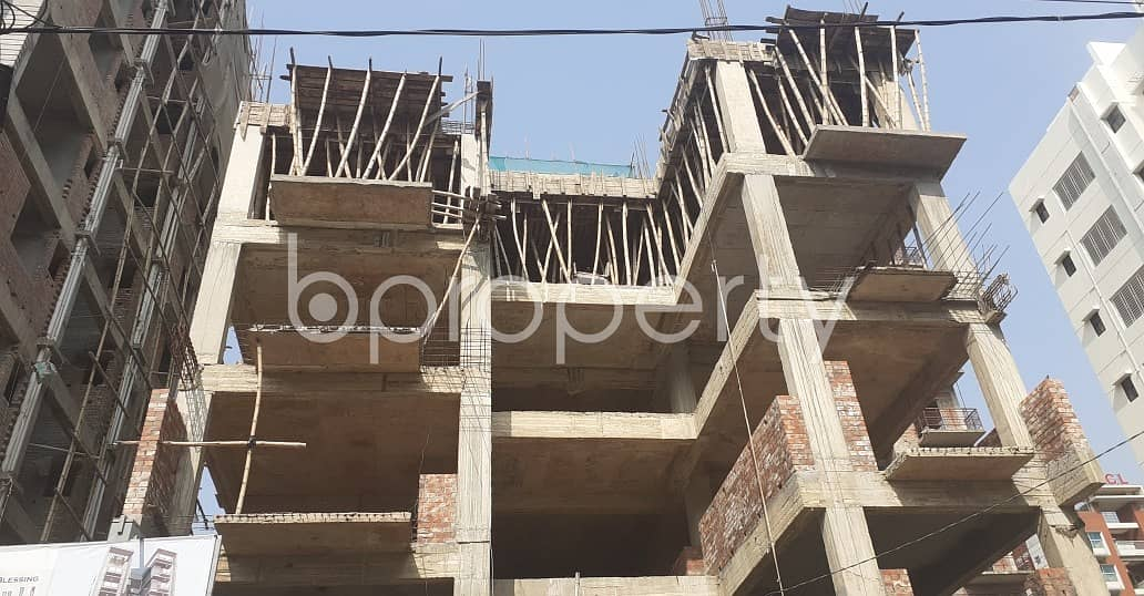 We Have A 2148 Sq. Ft Apartment For Sale In Bashundhara R-A Near Bashundhara Boro Masjid.