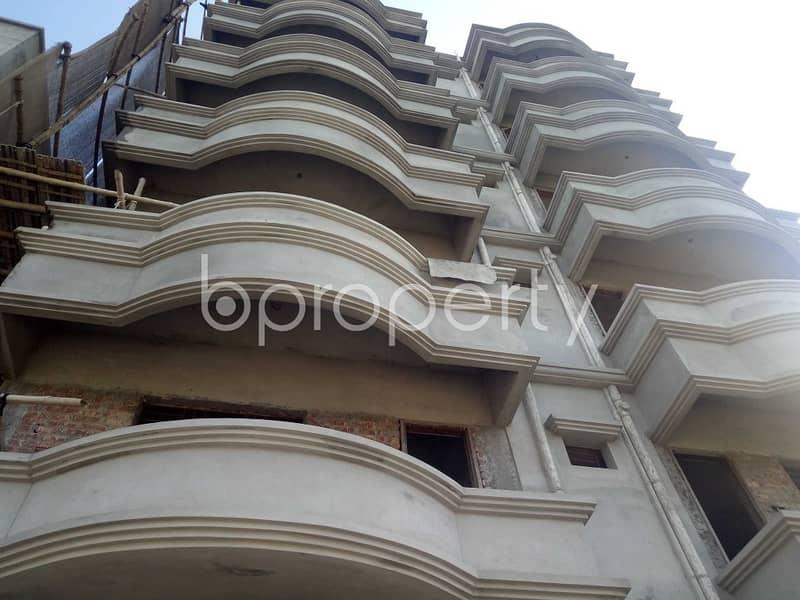Start Residing In This Properly Developed Flat For Rent, In Uttar Badda, Near Uttar Purba Badda Government Primary School