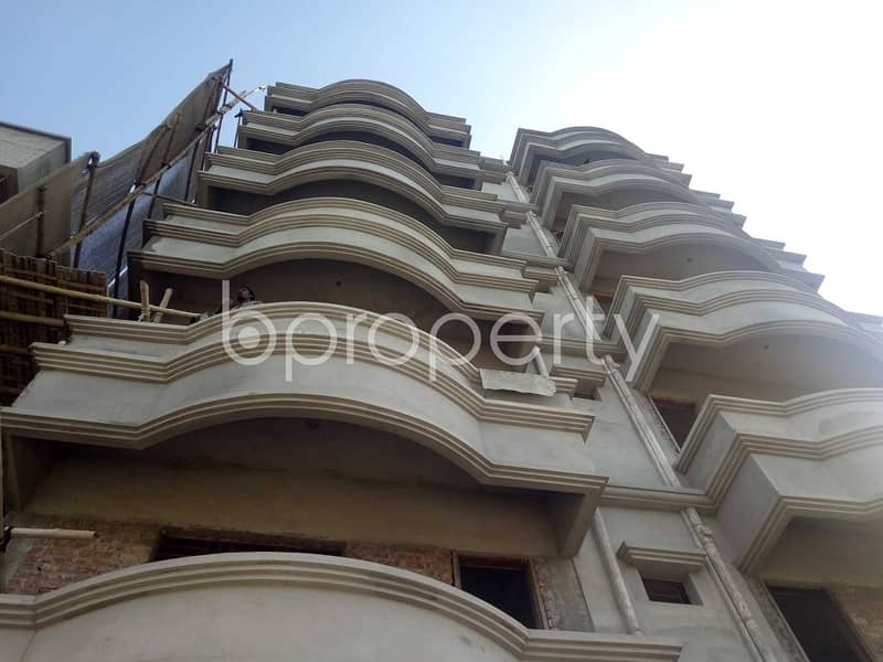 This Flat Is Now Vacant For Rent In Uttar Badda Close To Uttar Purba Badda Government Primary School