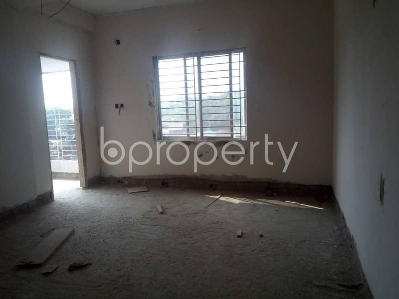 At Haji Nuruzzaman Residential Area Nice Flat Up For Sale Near Janata Bank Limited