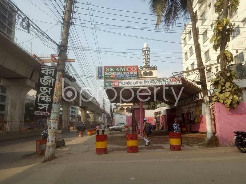 A Commercial Plot Is Available For Sale Which Is Located In Mirpur Nearby Preparatory Grammer School