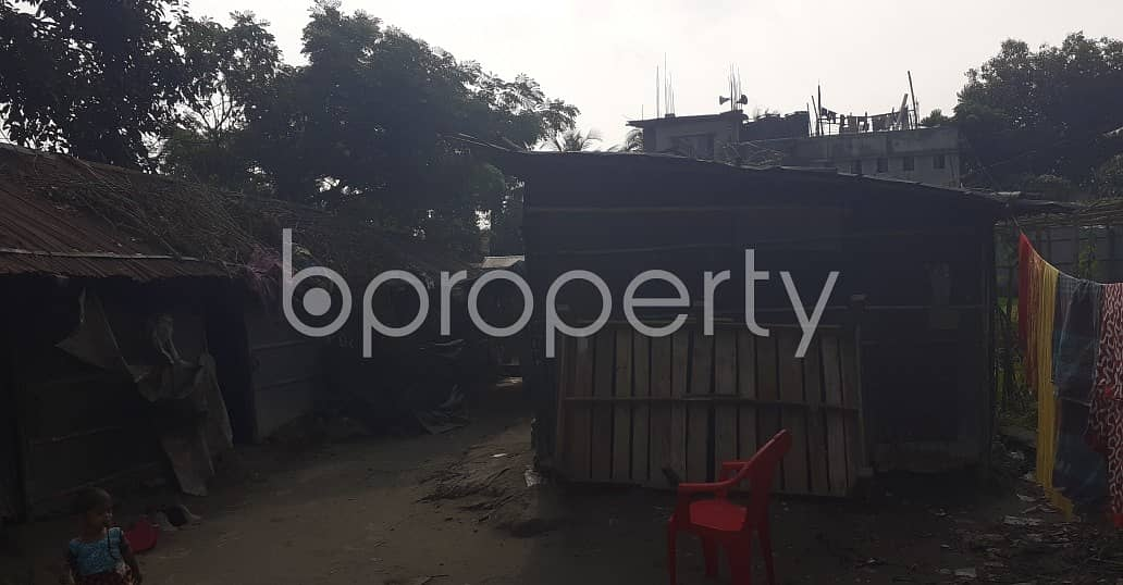 A Residential Plot Which Is Up For Sale At Pahartali Near To Akbar Shah Railway Housing Mosque