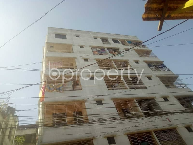 Apartment Of 1100 Sq Ft Is Ready For Rent In Badda, Vatara Nearby South Point School