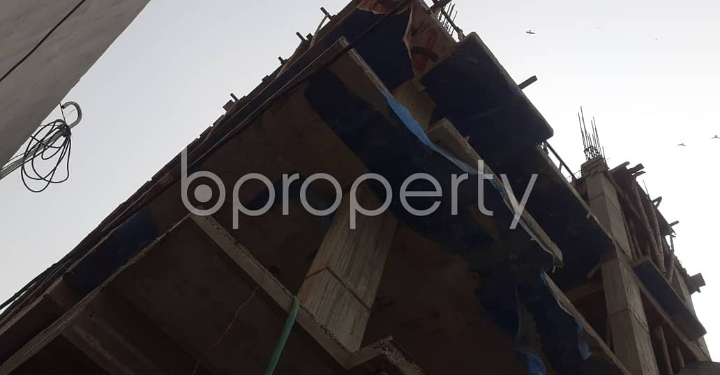 An Apartment Which Is Up For Sale At Jatra Bari Near To Al-Karim General Hospital Limited.