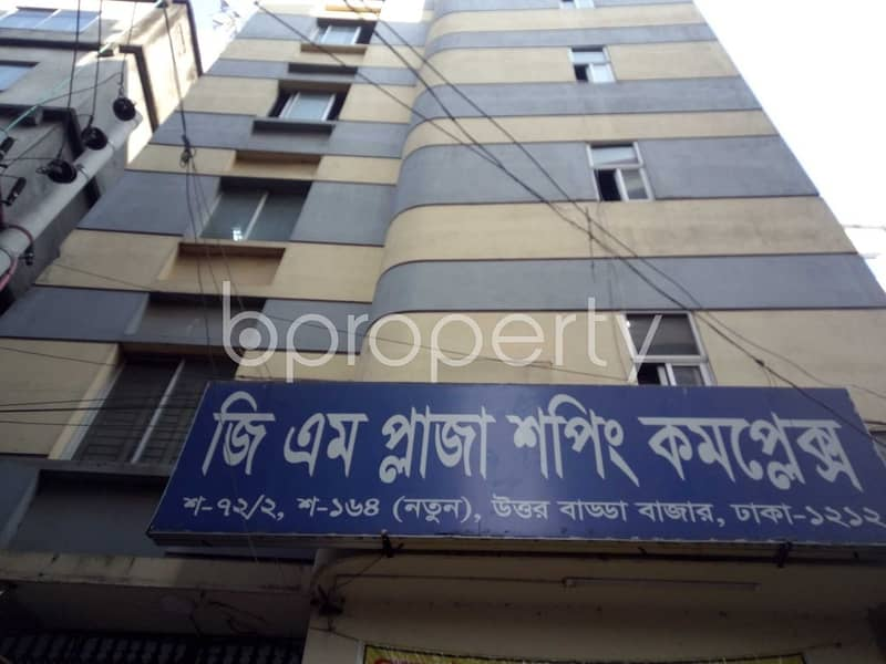See This Commercial Space For Rent Located In Uttar Badda Near To Uttar Badda Siddikya Jame Mosque.