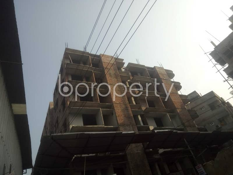 Visit This Apartment For Sale In Badda Near Mercantile Bank Limited.
