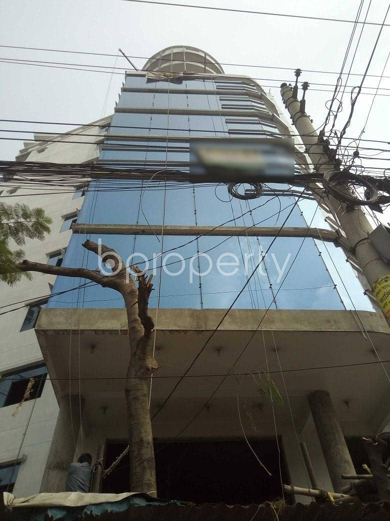 A Commercial Office Is Ready For Sale At Shahjadpur, Near Southeast Bank Limited.