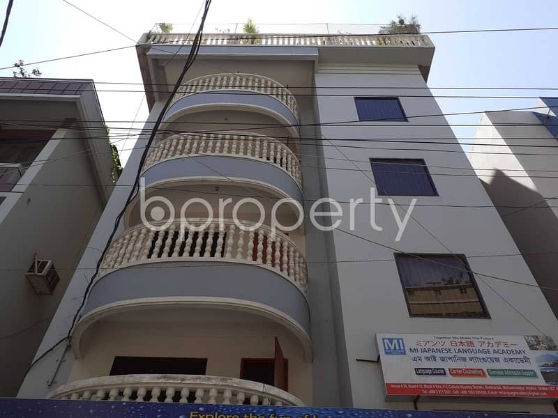 See This Office Space For Rent Located In Mohammadpur Near To Institute for Community Development.