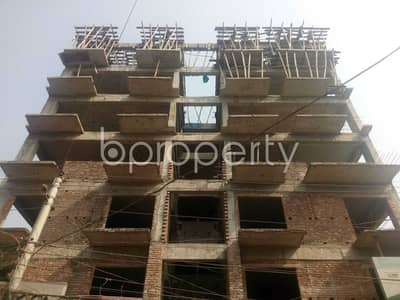 An Apartment Is Ready For Sale At South Banasree Project , Near South Banasree Central Jame Masjid.
