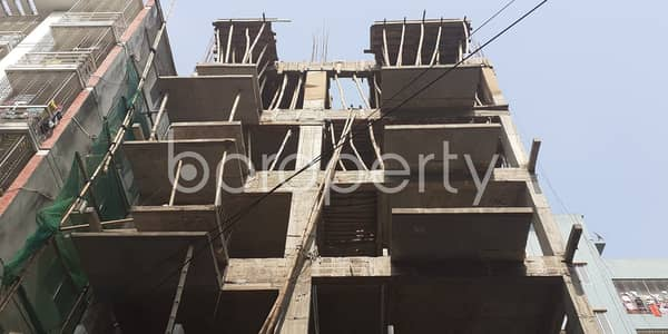Apartment Of 3 Bedroom Is Up For Sale In Bashundhara R-A Near Viquarunnisa Noon School and College.