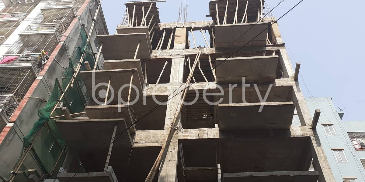 In Bashundhara R-A Near Viquarunnisa Noon School and College This 1540 Sq. Ft Apartment Is For Sale