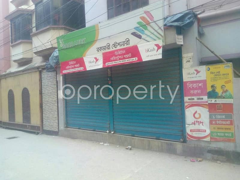 Standard Commercial Shop In East Rampura Is Up For Rent Near Kunjobon Road