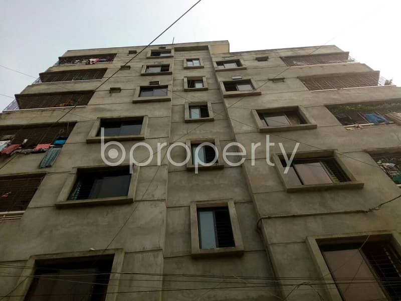 700 Sq Ft An Apartment Is Waiting For Sale At Mirpur 12, Nearby Kingston Hospital