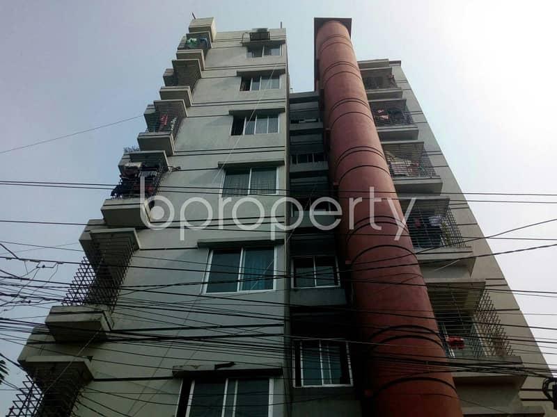 A Medium Size 950 Sq Ft Apartment For Sale In Dakshin Khan, Near Islami Bank Bd Ltd.