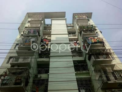 2 Bedroom Flat for Sale in Dakshin Khan, Dhaka - Nicely Planned 1000 Sq Ft Flat In Dakshin Khan For Sale Nearby Islami Bank Bd Ltd.