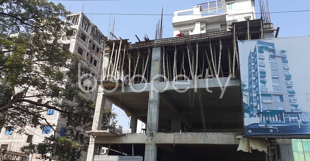 2000 Sq. Ft Flat For Sale In Bashundhara Near Bashundhara Eye Hospital