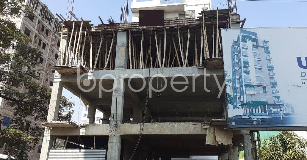 In Bashundhara, A Large 4-bedroom Apartment Can Be Found For Sale Near Bashundhara Eye Hospital