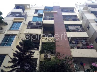 A Convenient 980 Sq Ft Residential Flat Is Prepared To Be Sold At Uttara Sector 10.