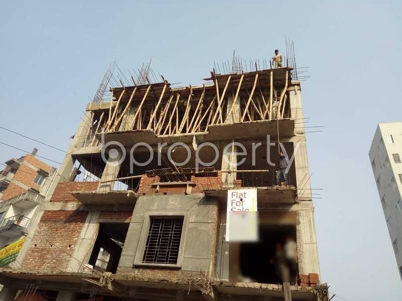 Grab This Flat Up For Sale In Bashundhara Near Independent University, Bangladesh