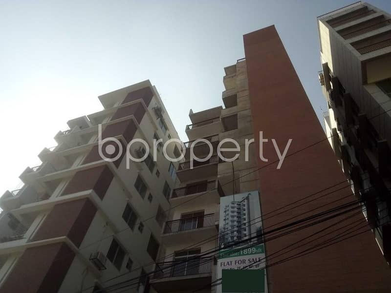 Properly Constructed Flat For Rent In Baridhara, Near Martin Luther College