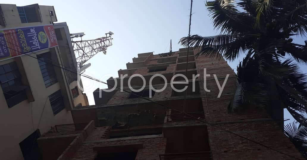 A 1015 Square Feet Apartment Is Up For Sale In Dhanmondi Near To Akhra Temple