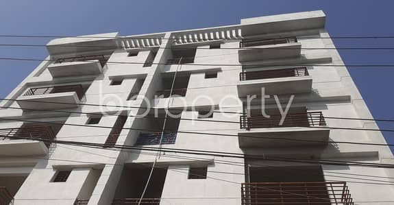 An Apartment Is Ready For Sale At Uttara , Near Baitul Falah Jame Masjid.