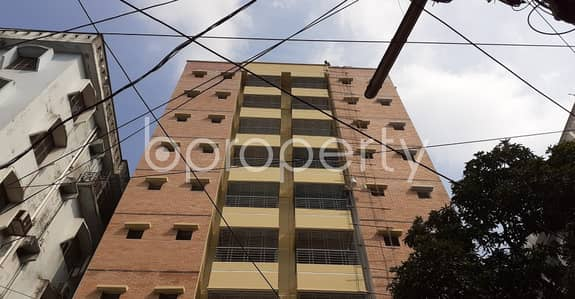 A 841 sq. ft Apartment Which Is Up For Sale At Dhanmondi Near To Jafrabad Government Primary School.
