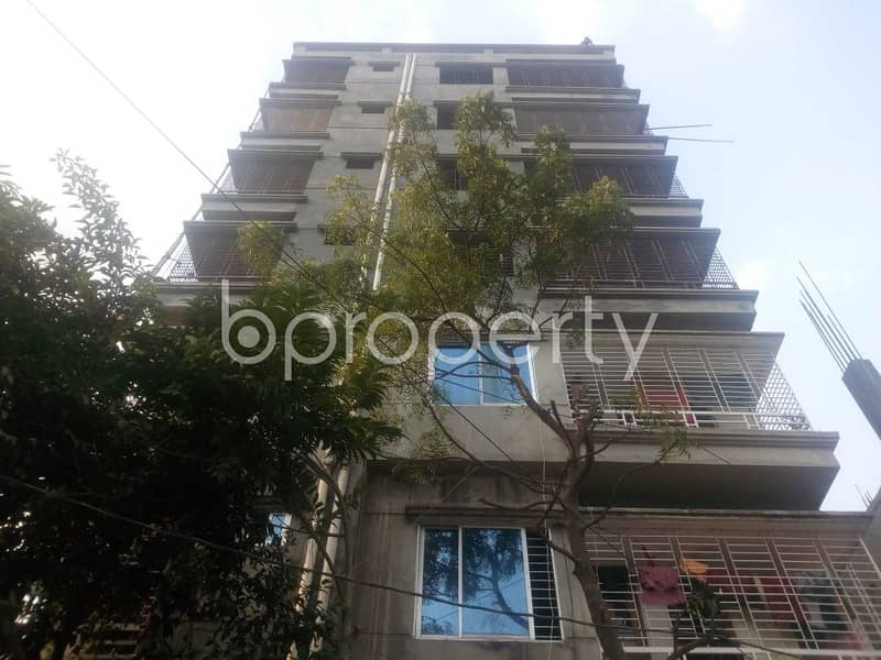Visit This Commercial Office For Rent In Aftab Nagar Near Dhaka Imperial College.