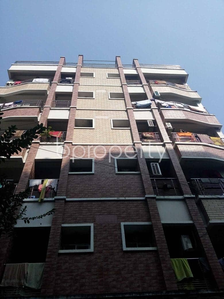 Situated In Uttara, Near Shaheed Monsur Ali Medical College And Hospital, An Apartment Is Up For Sale