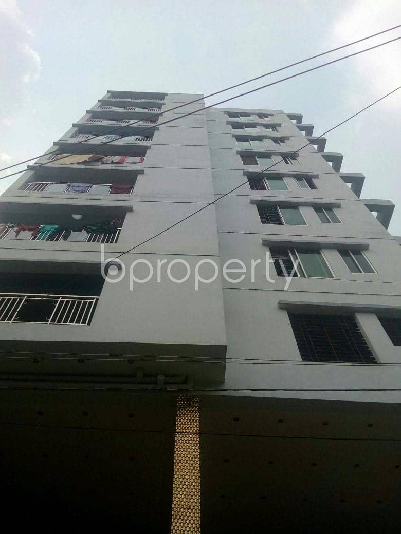 A Ready Flat With Three Bedroom Is Available For Sale At Ashkona