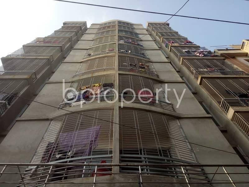 An Apartment Is Ready For Sale At West Shewrapara, Near Baitul Shako Masjid