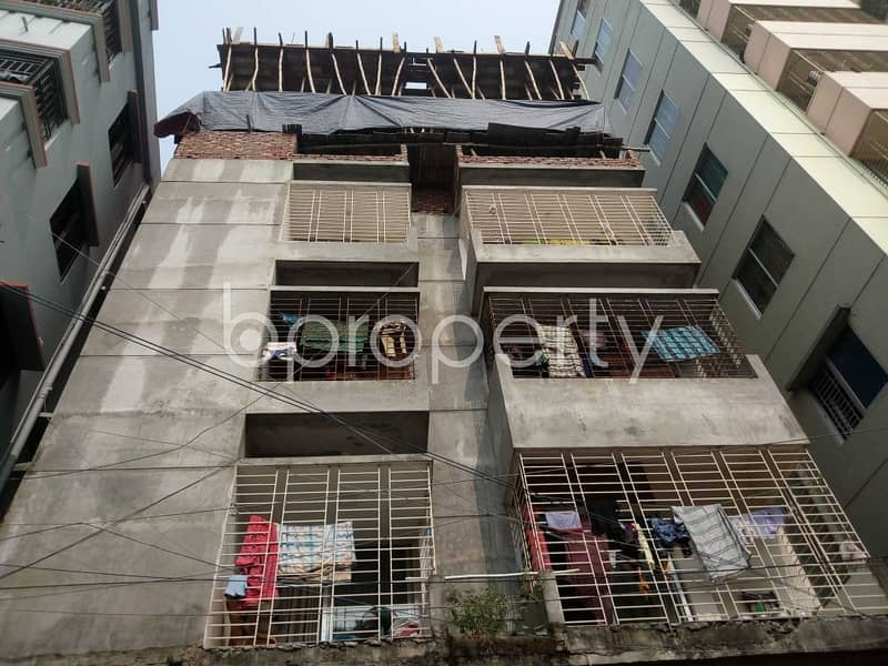 An Apartment Is Ready For Sale At Mirpur , Near Islami Bank Bangladesh Limited .