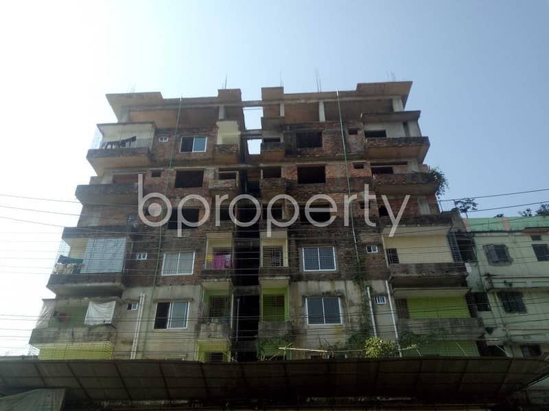 Well Planned Apartment Is Up For Sale In Bakalia