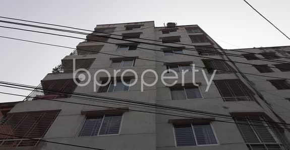 An Apartment Is Ready For Sale At Dhanmondi , Near Masjidul Aarafah.