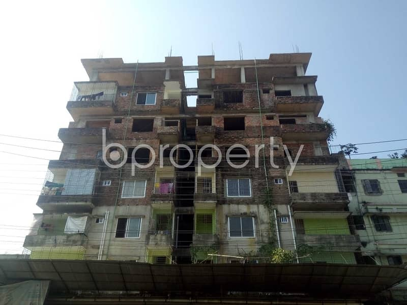 1600 Sq. Ft. Apartment Is Up For Sale In Bakalia