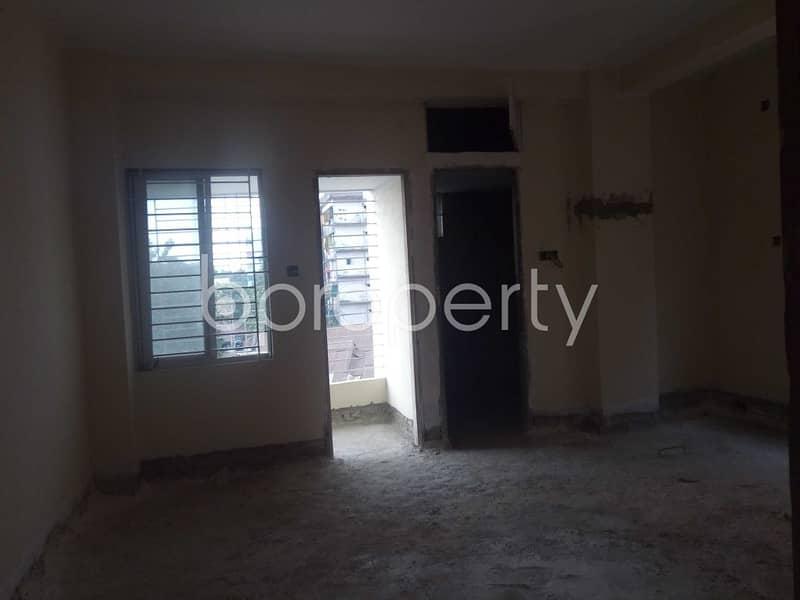 Nice Flat Can Be Found In Haji Nuruzzaman Residential Area For Sale, Near Janata Bank Limited