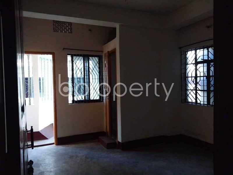 Near To Halishahar Cantonment High School And College In Halishahar The 1,000 Sq. Ft. Flat Is Ready For Rent