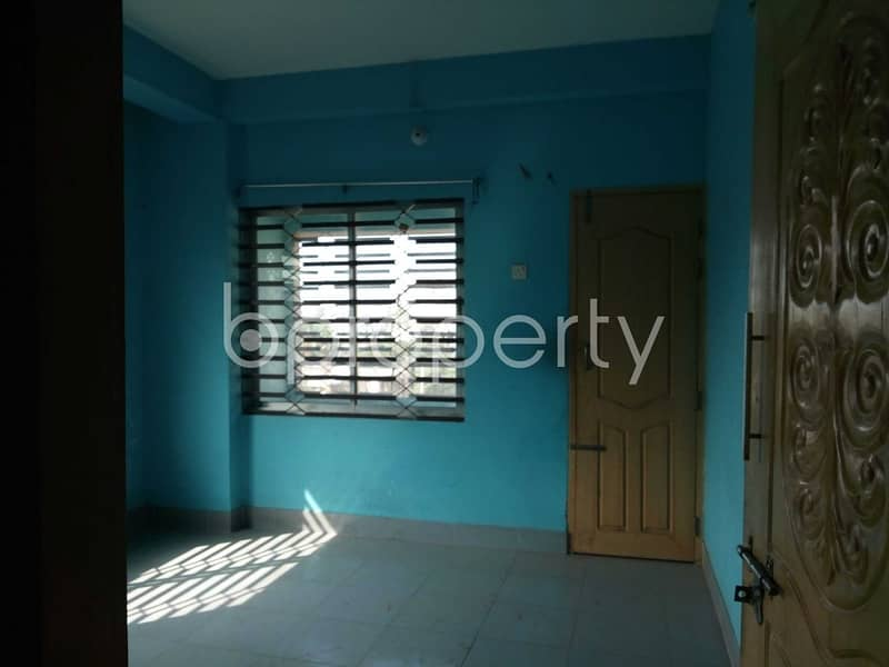 A Nicely Planned Flat Is Up For Rent In Halishahar Nearby Halishahar General Hospital