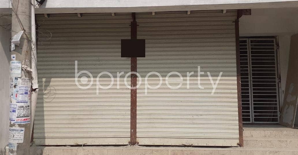 A Shop Is Up For Sale In Banasree Near Banasree Kacha Bazar.