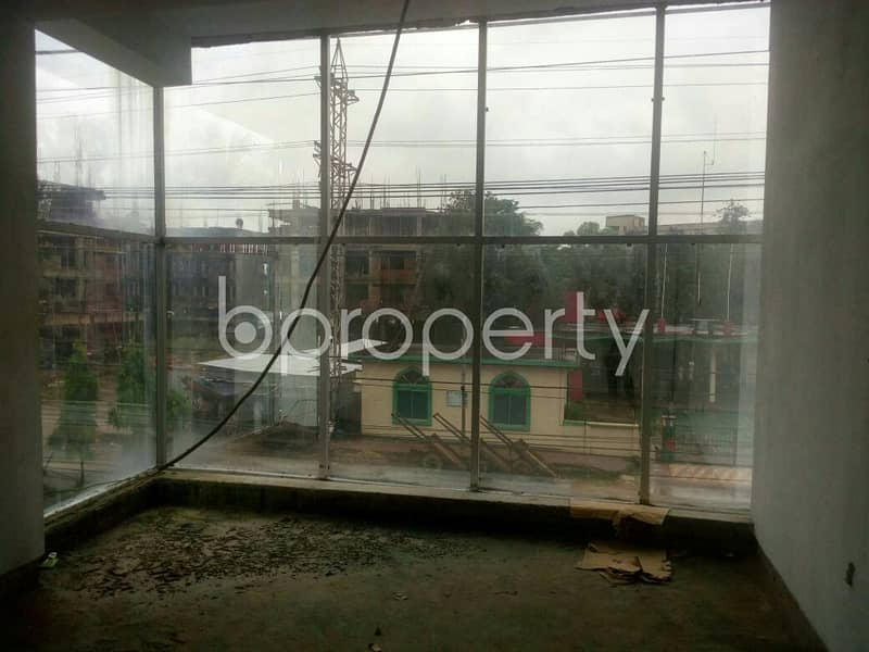 An Office Space Is Vacant For Sale In Chandgaon Near To Bahaddarhat Boys School .