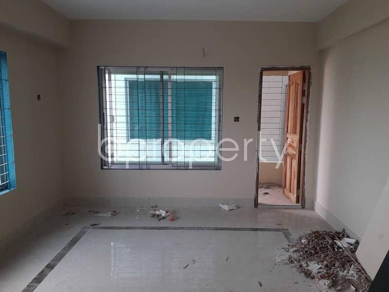 Start A New Home, In This Flat For Sale In Ambarkhana, Near Gurni Abashik Elaka Jame Mosjid